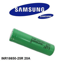 Samsung INR18650 25R 2500 mAh Battery