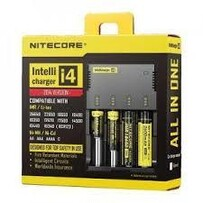 Nitecore I4 Intellicharger LCD Battery Charger for IMR/Li-ion/LiFePO4/Ni-MH/NiCd
